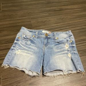 Guess Cutoff Denim Shorts 28